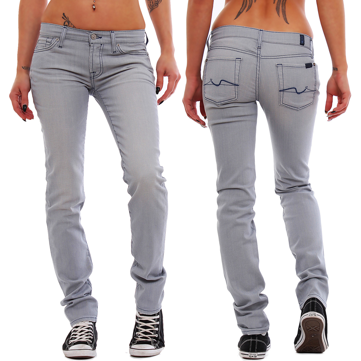 7 seven for all mankind damen jeans roxanne r hrenjeans. Black Bedroom Furniture Sets. Home Design Ideas