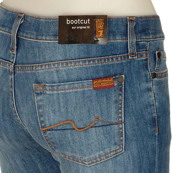 7 seven for all mankind damen jeans bootcut w28 blau b ebay. Black Bedroom Furniture Sets. Home Design Ideas