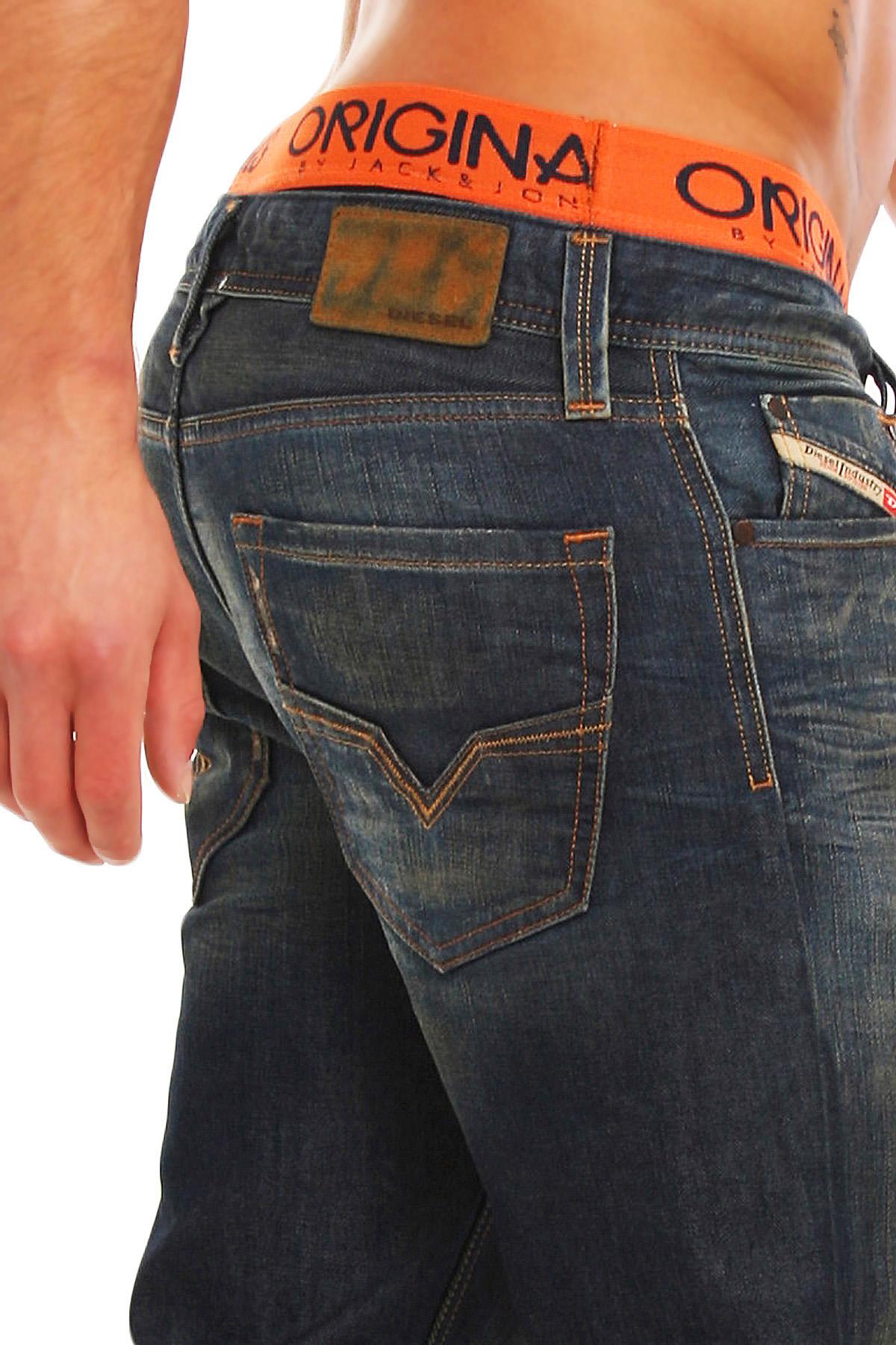 diesel jeans larkee 008y3 8y3 herren regular straight dna. Black Bedroom Furniture Sets. Home Design Ideas