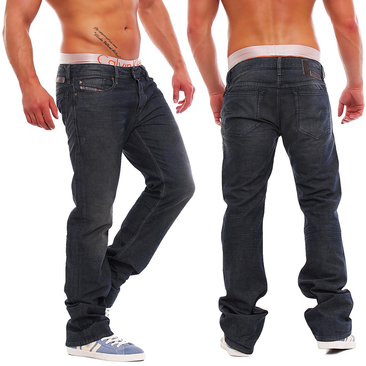 diesel new fanker 0807q 807q herren jeans hose regular. Black Bedroom Furniture Sets. Home Design Ideas