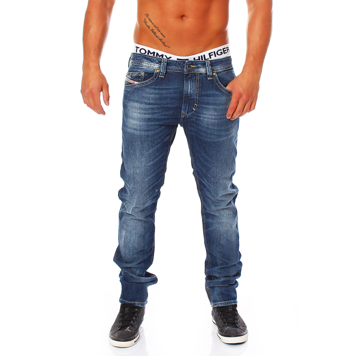 diesel jeans thavar 0827i 827i herren hose r hrenjeans stonewash neu. Black Bedroom Furniture Sets. Home Design Ideas