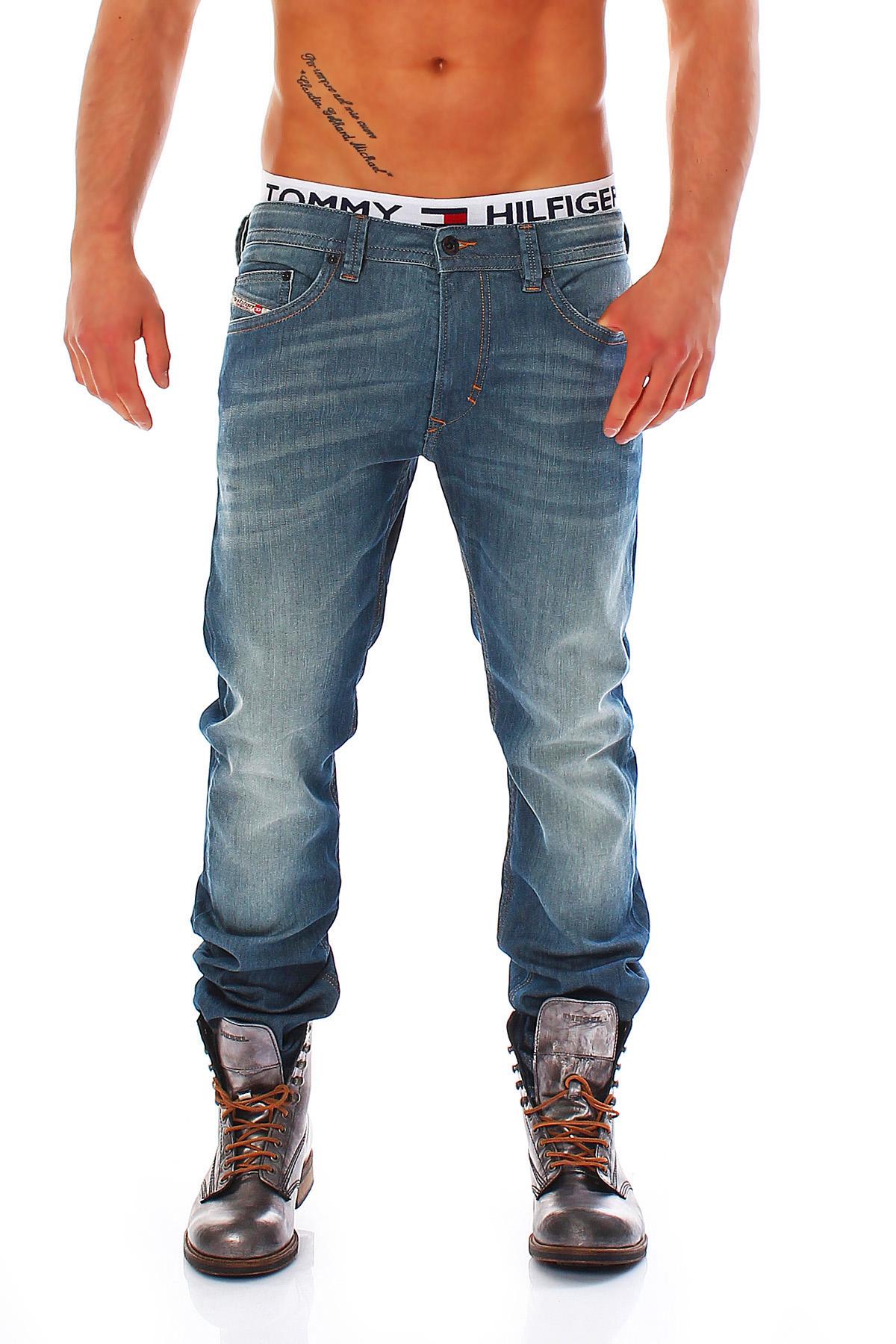 diesel jeans thavar herren hose slim skinny r hrenjeans. Black Bedroom Furniture Sets. Home Design Ideas