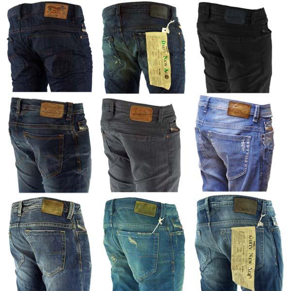 herren hose diesel jeans thavar stonewash used look ebay. Black Bedroom Furniture Sets. Home Design Ideas