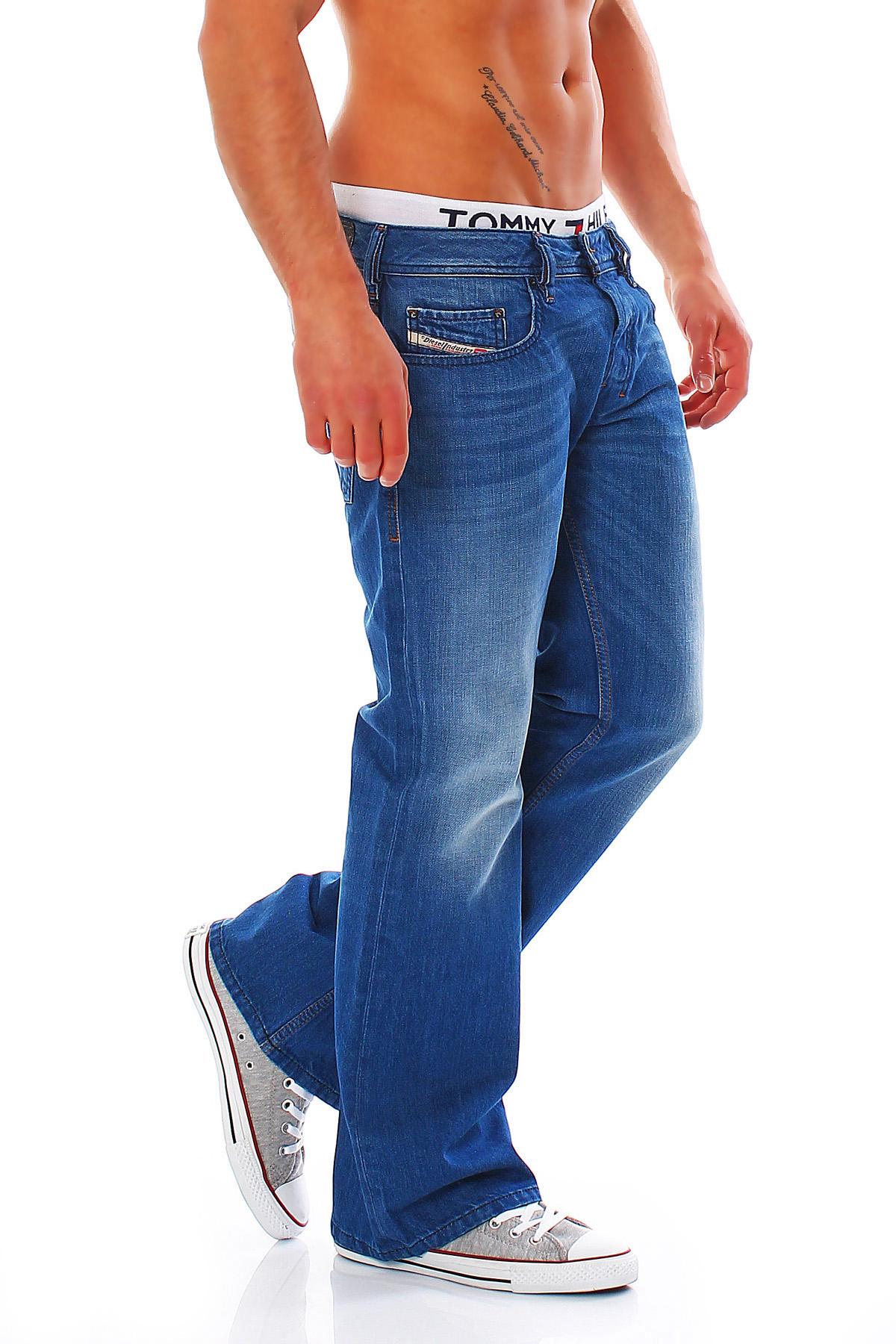 diesel zathan herren jeans boot cut hose regular slim. Black Bedroom Furniture Sets. Home Design Ideas