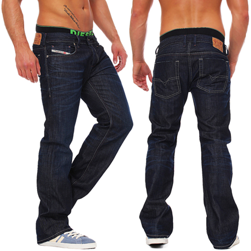 diesel zatiny 0806w 806w herren jeans hose regular bootcut neu ebay. Black Bedroom Furniture Sets. Home Design Ideas