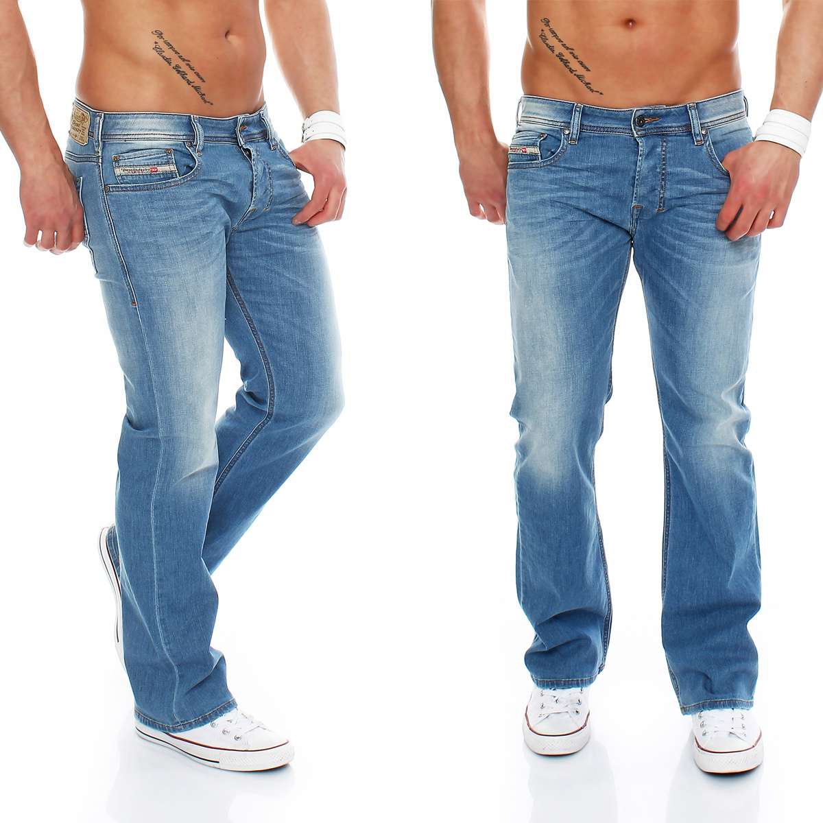details about diesel jeans zatiny j00 regular herren hose bootcut neu. Black Bedroom Furniture Sets. Home Design Ideas
