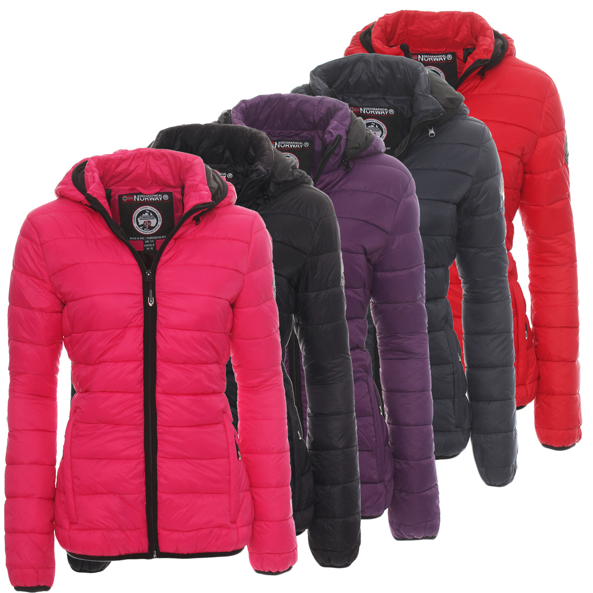 geographical norway antinea women 39 s quilted jacket winter. Black Bedroom Furniture Sets. Home Design Ideas