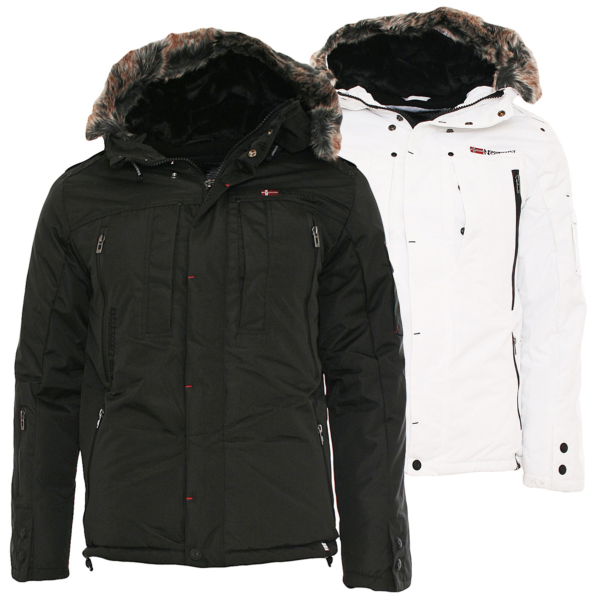 geographical norway herren winterjacke new cluses winter. Black Bedroom Furniture Sets. Home Design Ideas