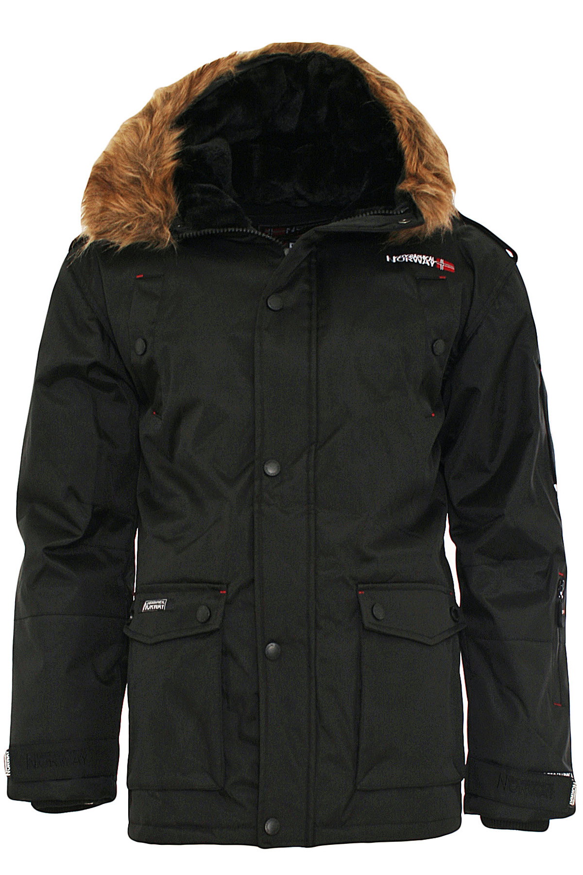 geographical norway herren winterjacke blister longman winter parka jacke ebay. Black Bedroom Furniture Sets. Home Design Ideas