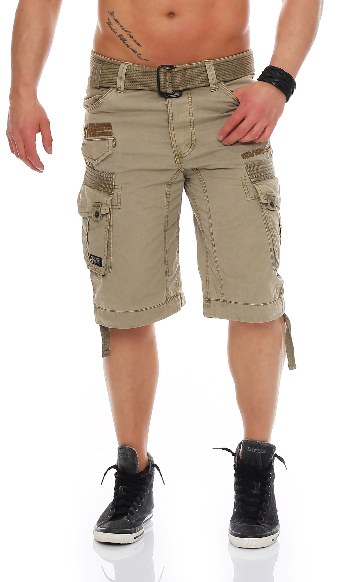 geographical norway herren bermuda cargo shorts short kurze sommer hose ebay. Black Bedroom Furniture Sets. Home Design Ideas