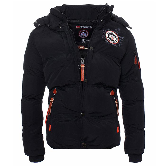 geographical norway warm lined winter jacket parka bomber. Black Bedroom Furniture Sets. Home Design Ideas