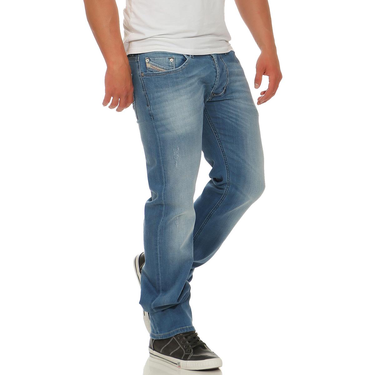 diesel herren jeans larkee hose stretch regular fit. Black Bedroom Furniture Sets. Home Design Ideas