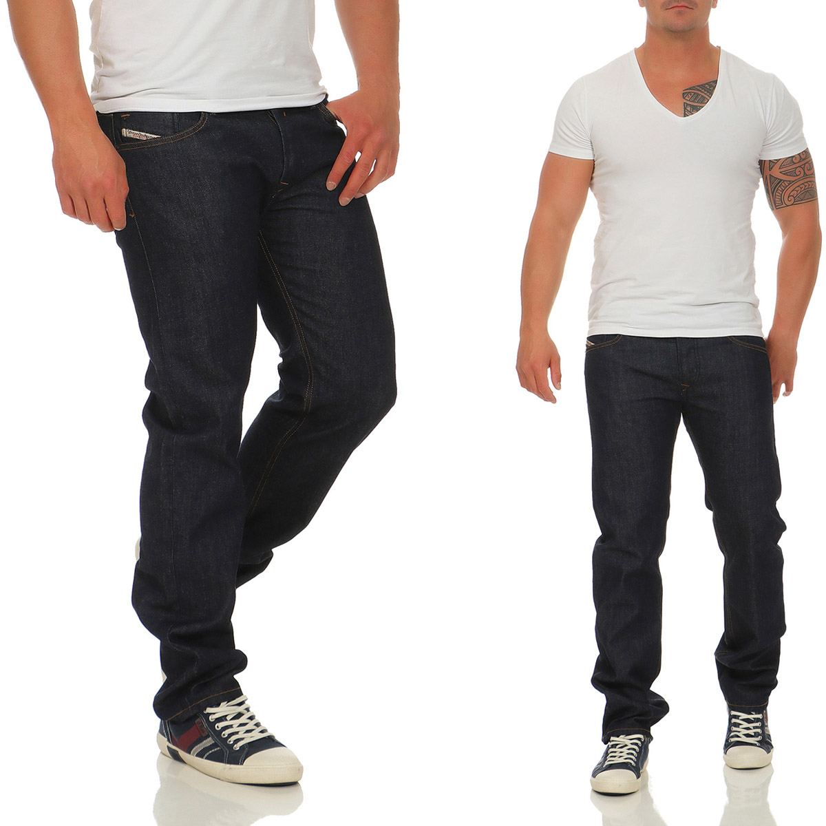 diesel herren jeans waykee rh248 stretch hose regular. Black Bedroom Furniture Sets. Home Design Ideas