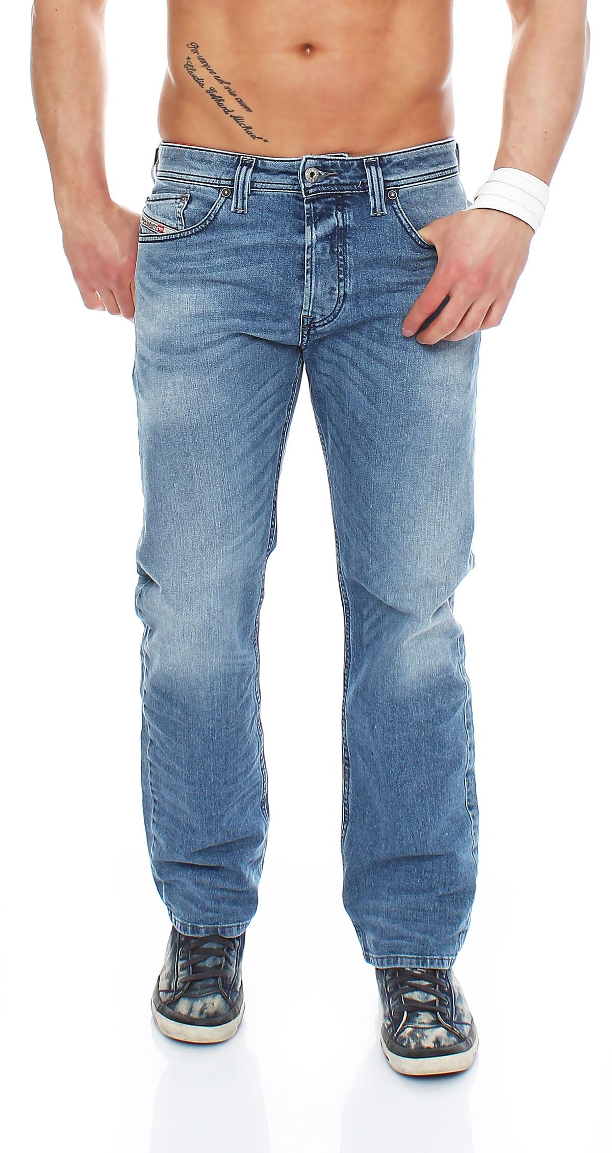 7e9dcc6d Diesel Larkee Relaxed 0842h Men's Jeans Pants Regular Comfort NEW   eBay