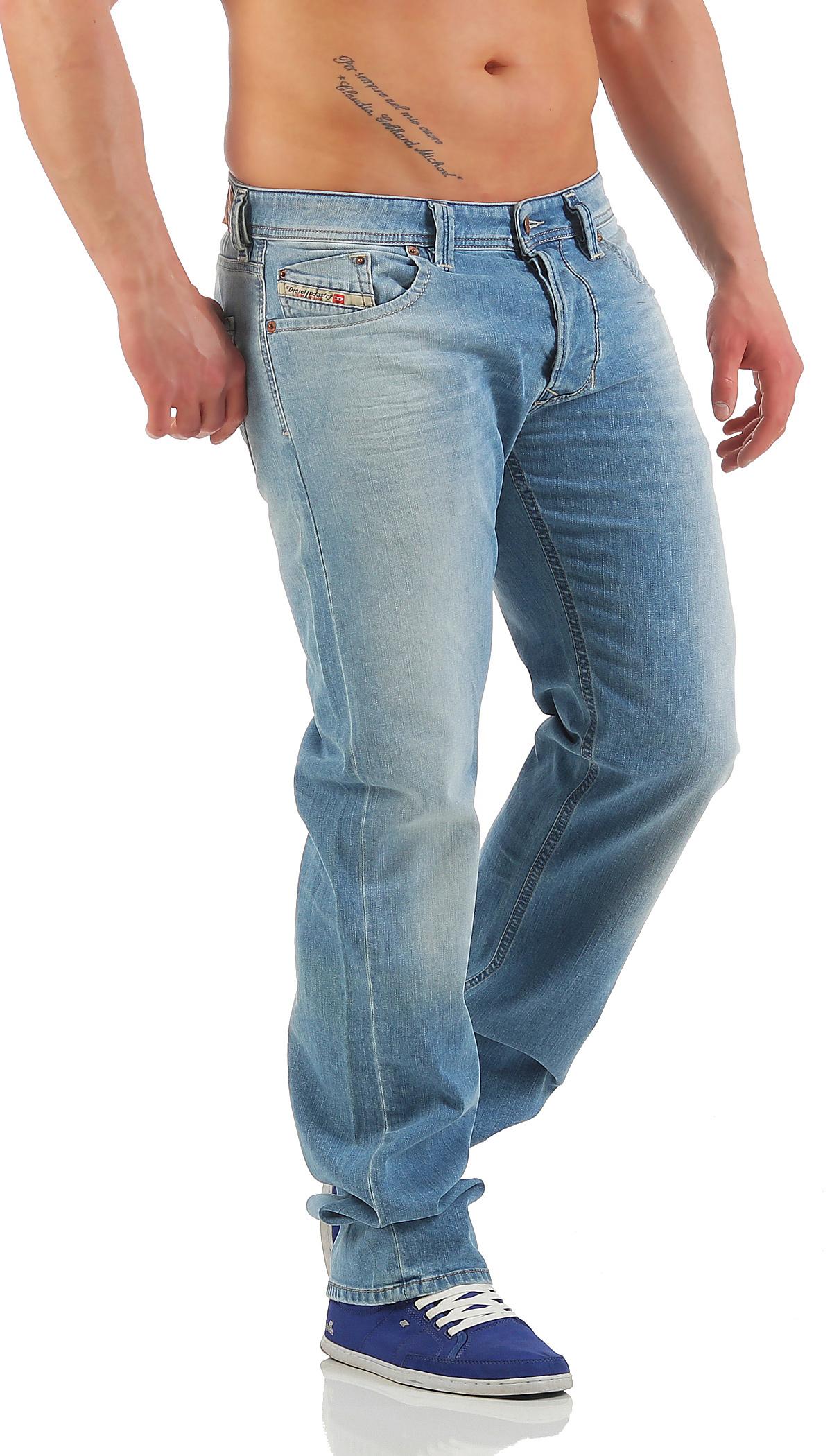 Diesel Jeans Larkee 0RS4B S4B Herren Hose Regular Straight dunkelblau Neu