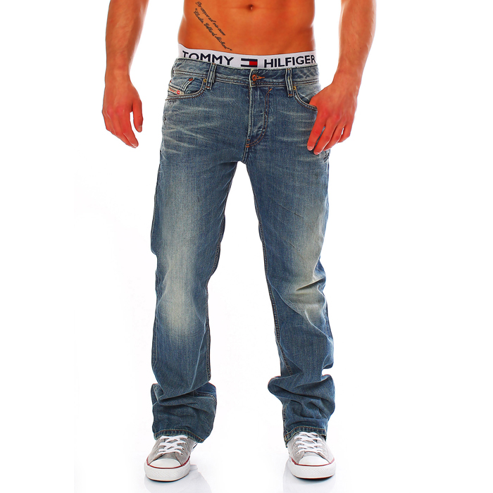 a9e78239276 Product Description. Offered is an original jeans of brand diesel. This  model new-Fanker has Bootcut fit ...