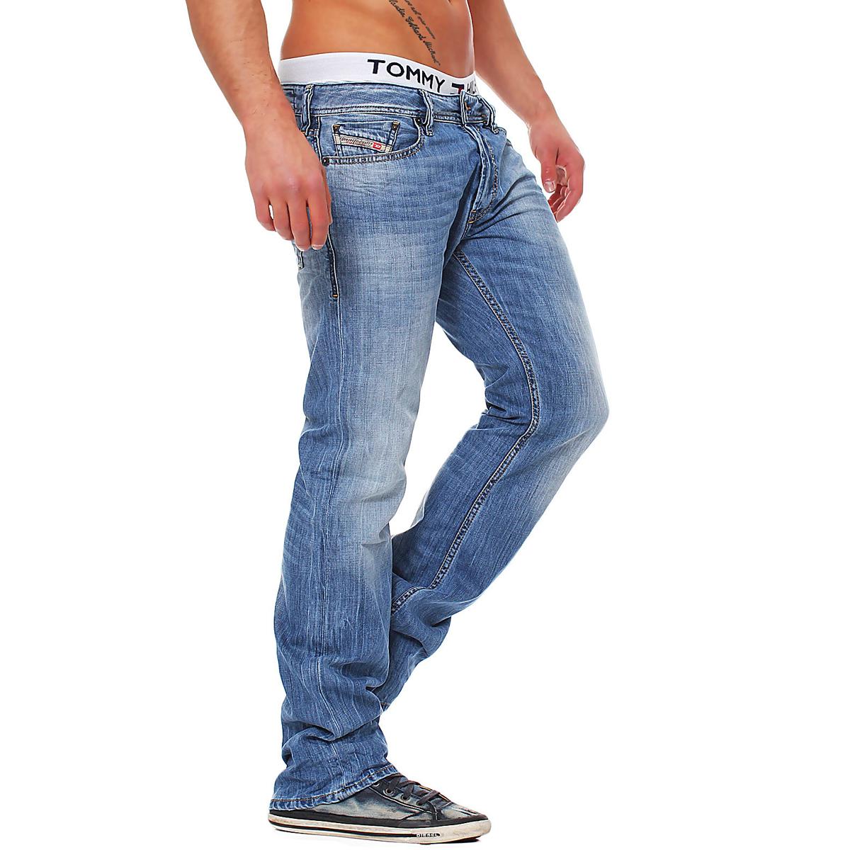 diesel jeans new fanker herren hose regular slim bootcut. Black Bedroom Furniture Sets. Home Design Ideas