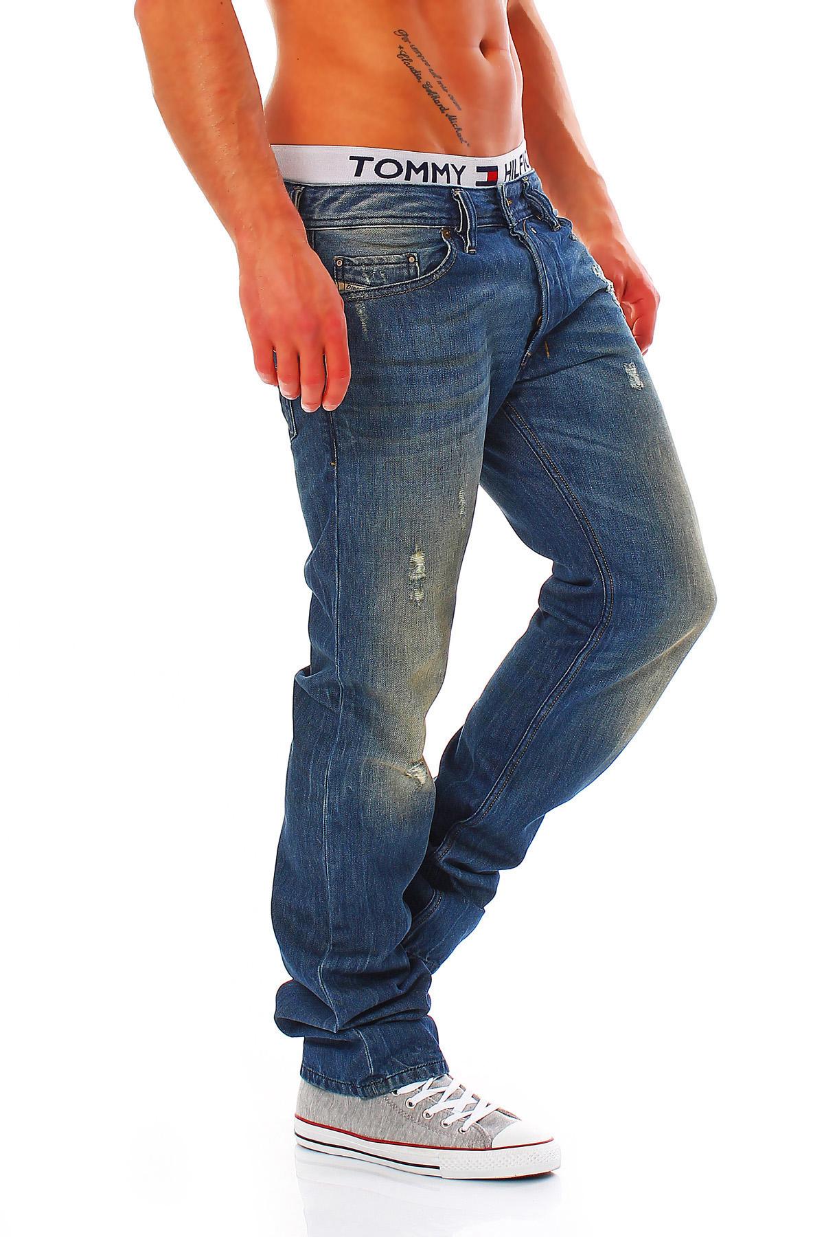 diesel jeans safado 0075i herren regular slim straight. Black Bedroom Furniture Sets. Home Design Ideas