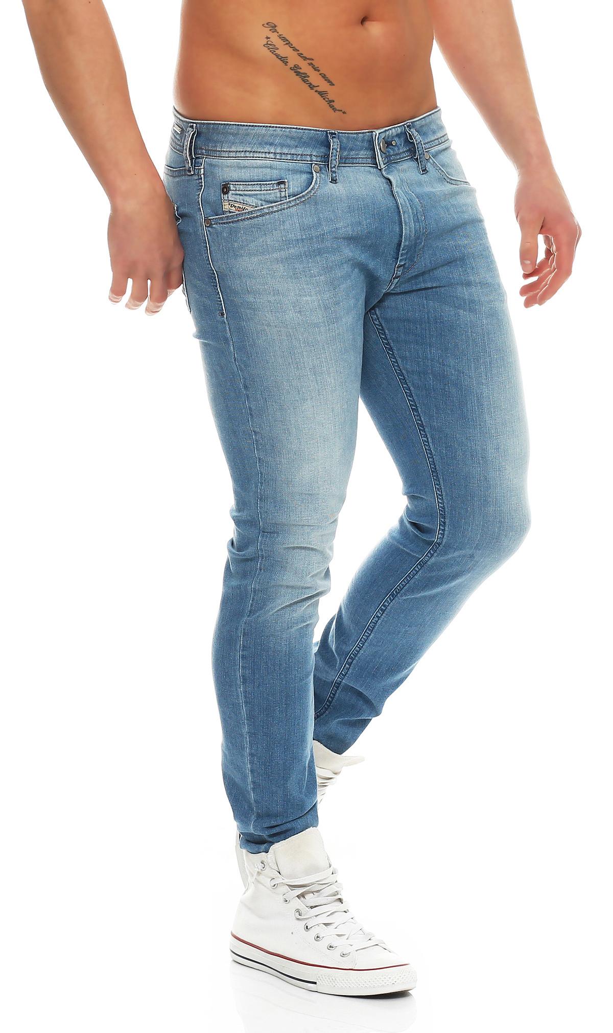 diesel jeans stickker 0850t herren hose super slim skinny r hrenjeans stretch ebay. Black Bedroom Furniture Sets. Home Design Ideas