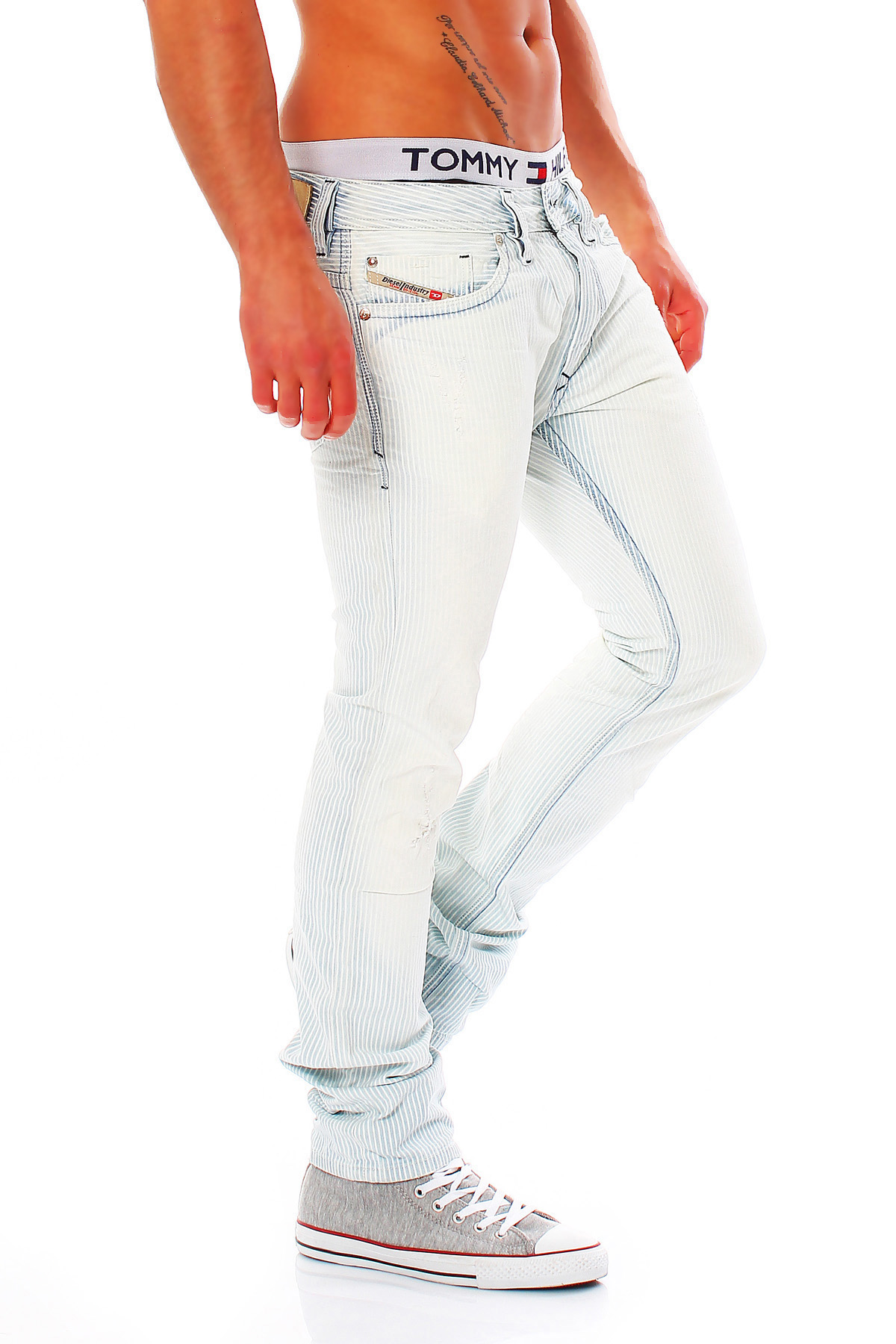 diesel jeans thanaz herren slim skinny dna kollektion neu. Black Bedroom Furniture Sets. Home Design Ideas
