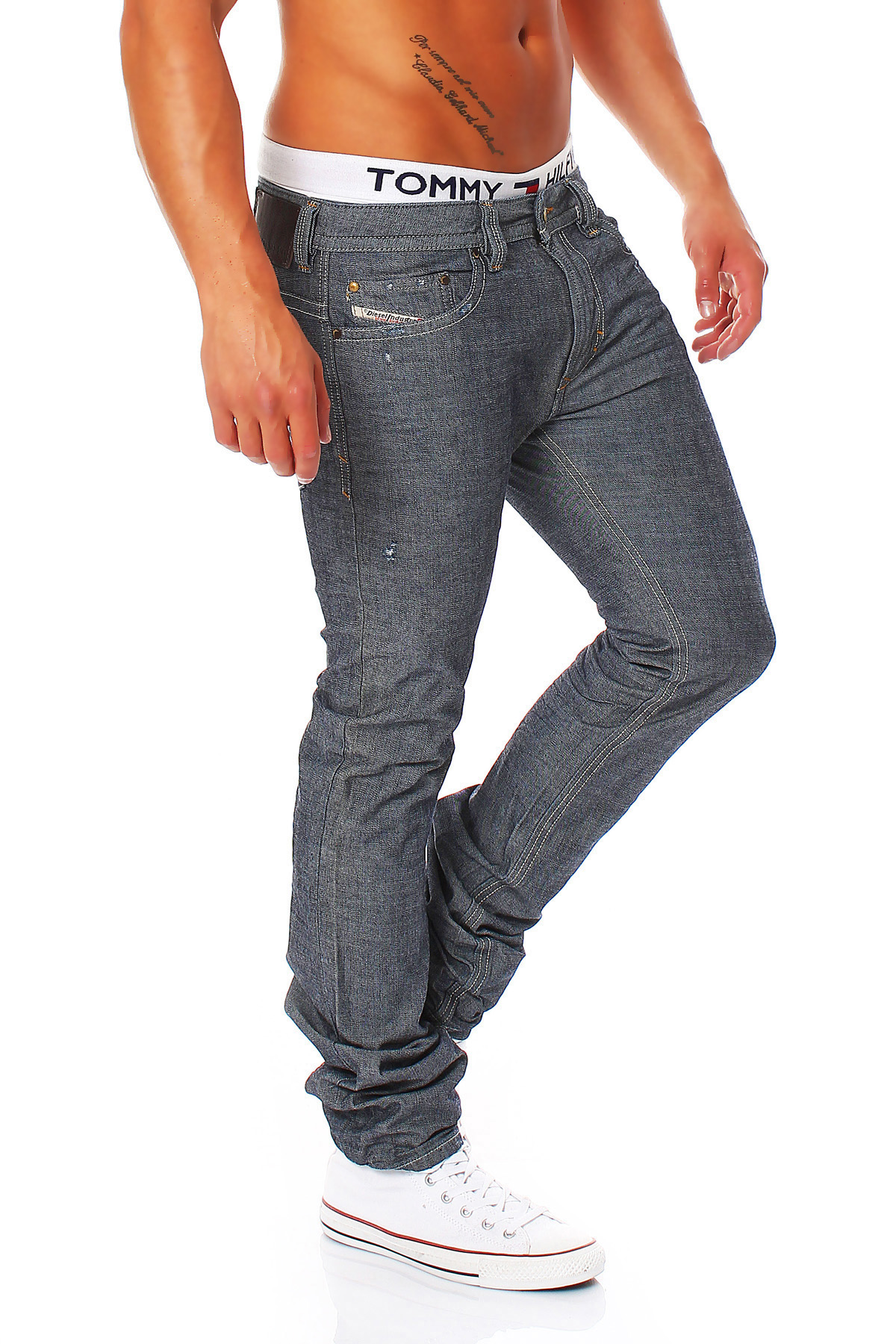 59ebe90c Details about Diesel Jeans Thavar Pants Made of the D.N.A Collection Skinny  Jeans NEW