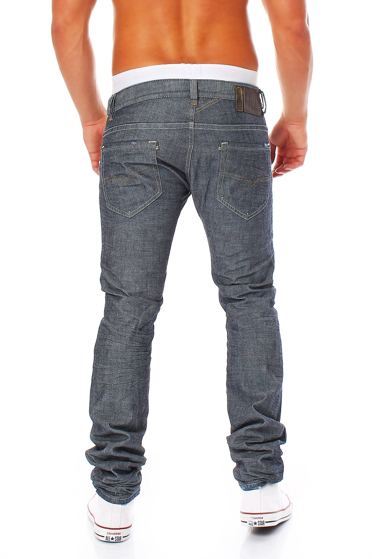 Diesel Jeans Thavar Pants Made of the D.N.A Collection Skinny Jeans ... df6264aa43