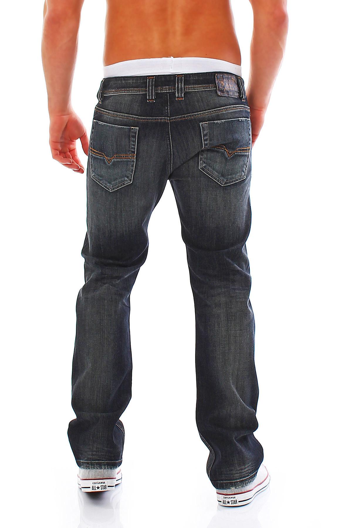 diesel jeans viker regular straight herren hose leichter. Black Bedroom Furniture Sets. Home Design Ideas