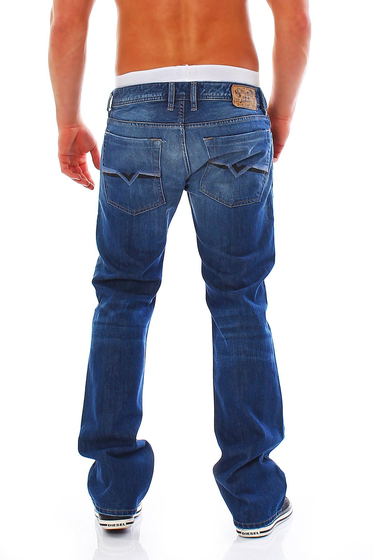 diesel jeans zatiny regular herren hose leichter bootcut. Black Bedroom Furniture Sets. Home Design Ideas