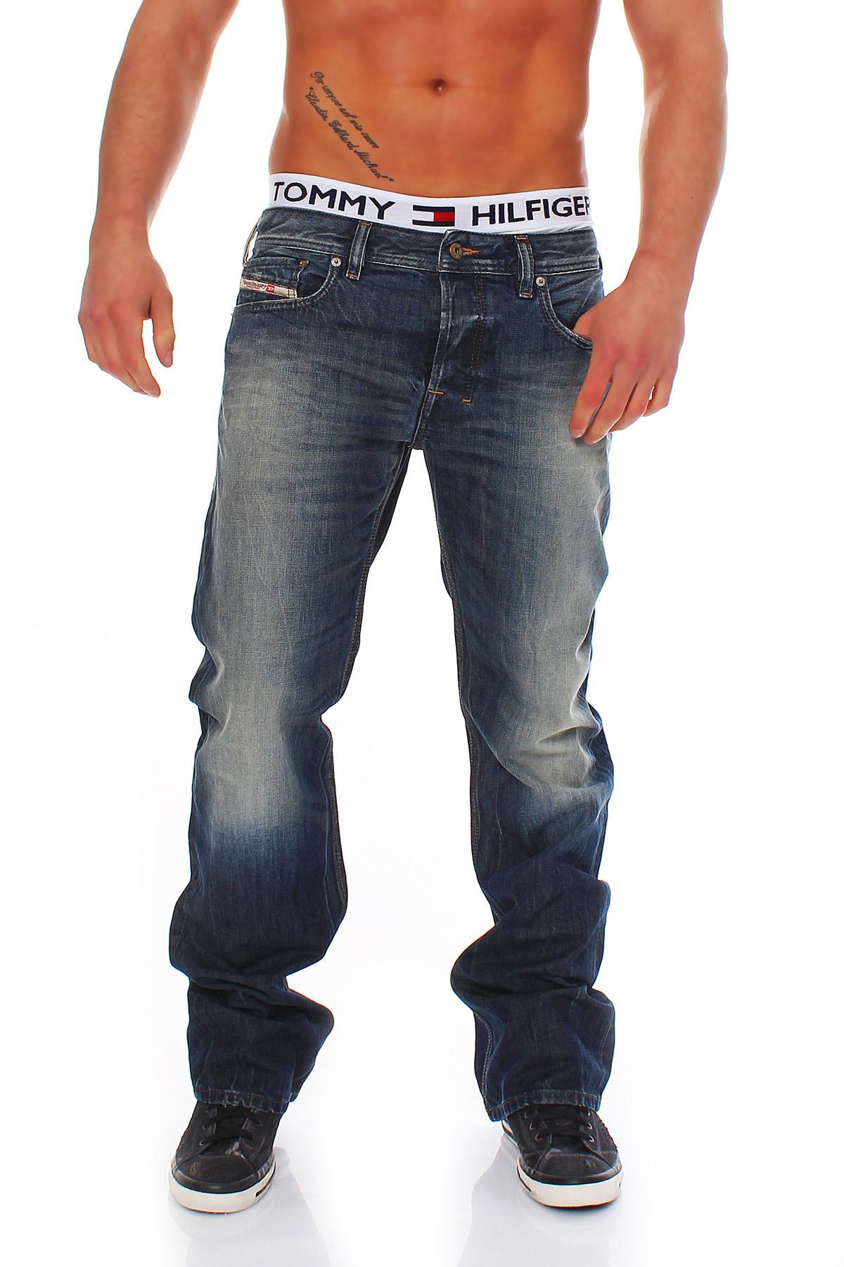diesel jeans zatiny herren hose regular leichter bootcut. Black Bedroom Furniture Sets. Home Design Ideas