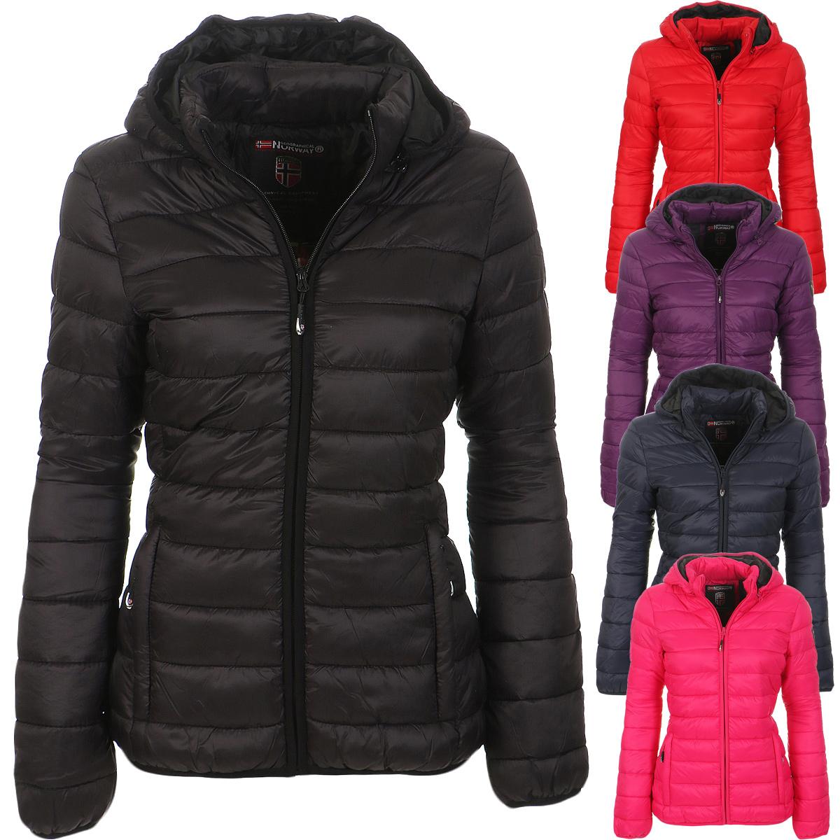 Geographical Norway Antinea Damen Steppjacke Winter
