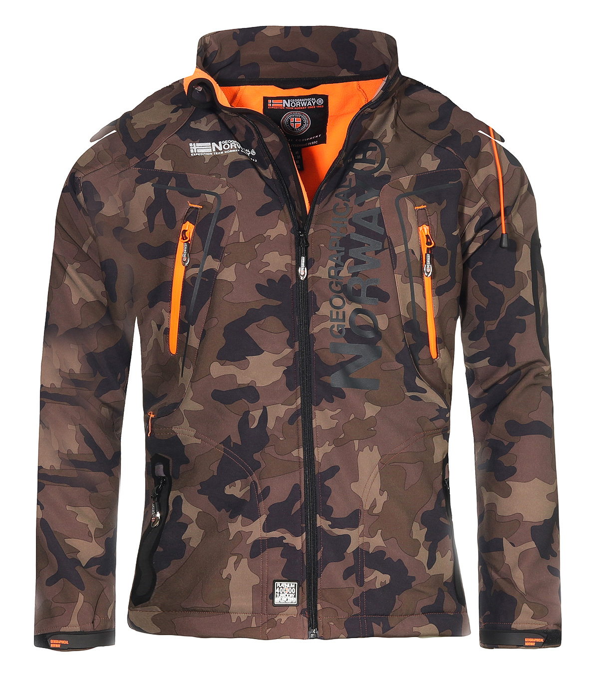 Geographical Norway River /& Forrest Mens Softshell Jacket Functional Outdoor Jacket Breathable Windproof Water-Repellent for Men