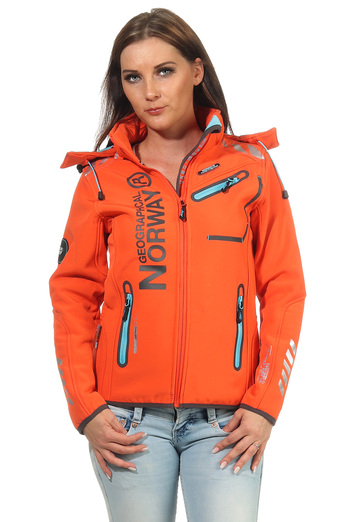 Geographical Norway Rose /& Tansy Womens Softshell Jacket Functional Outdoor Jacket Breathable Windproof Water-Repellent for Women