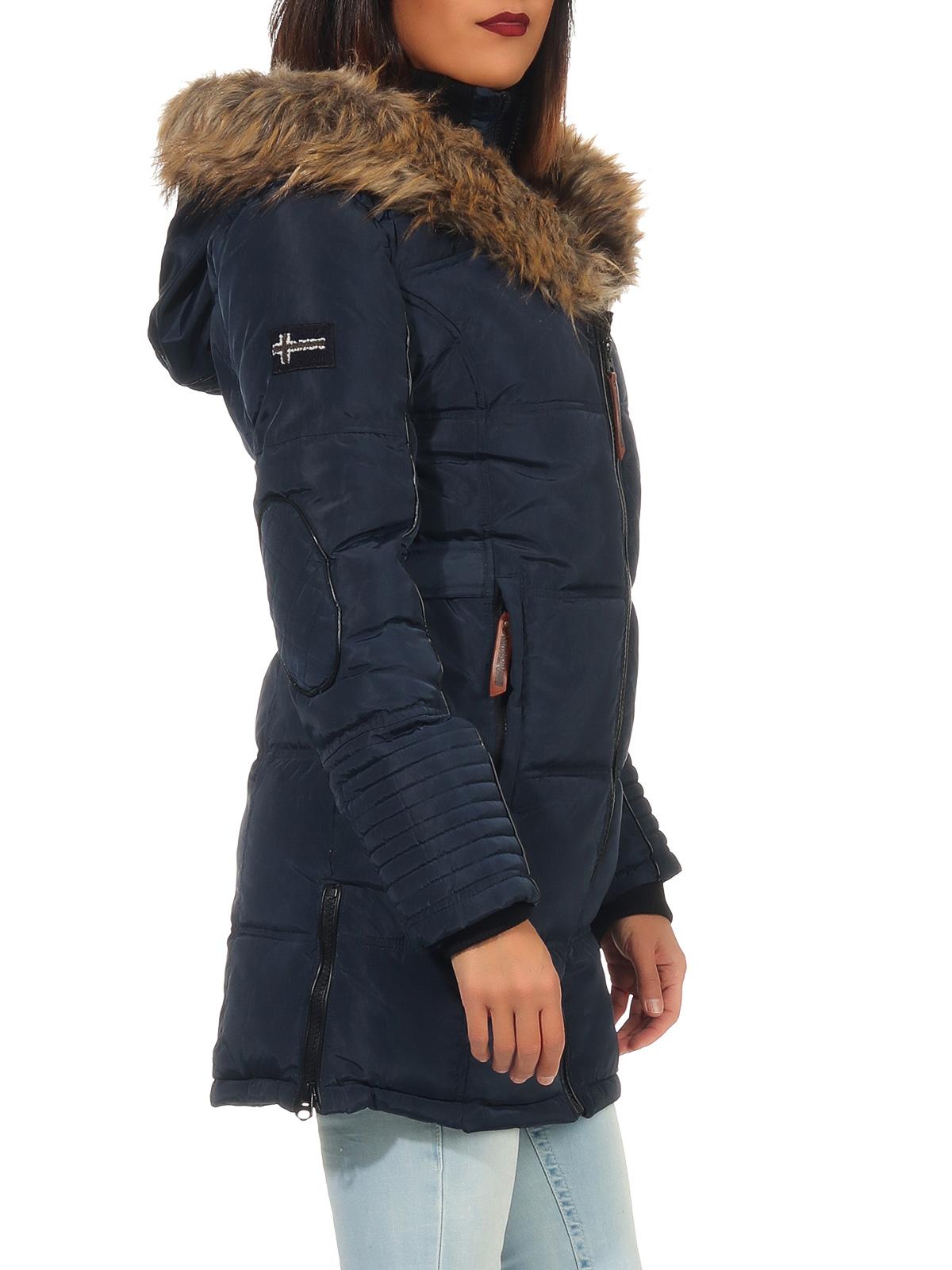 Geographical Norway Damen Winter Jacke gefüttert warme ...