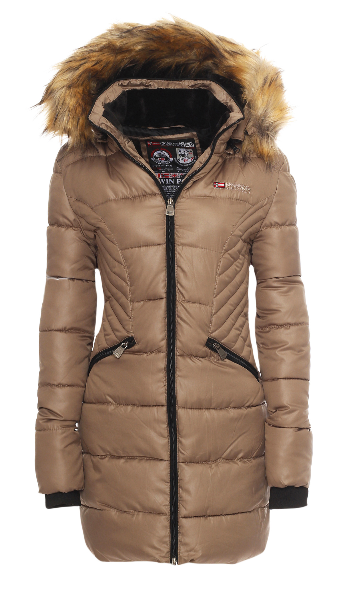Geographical Norway Ladies Winter Jacket Parka Long Coat