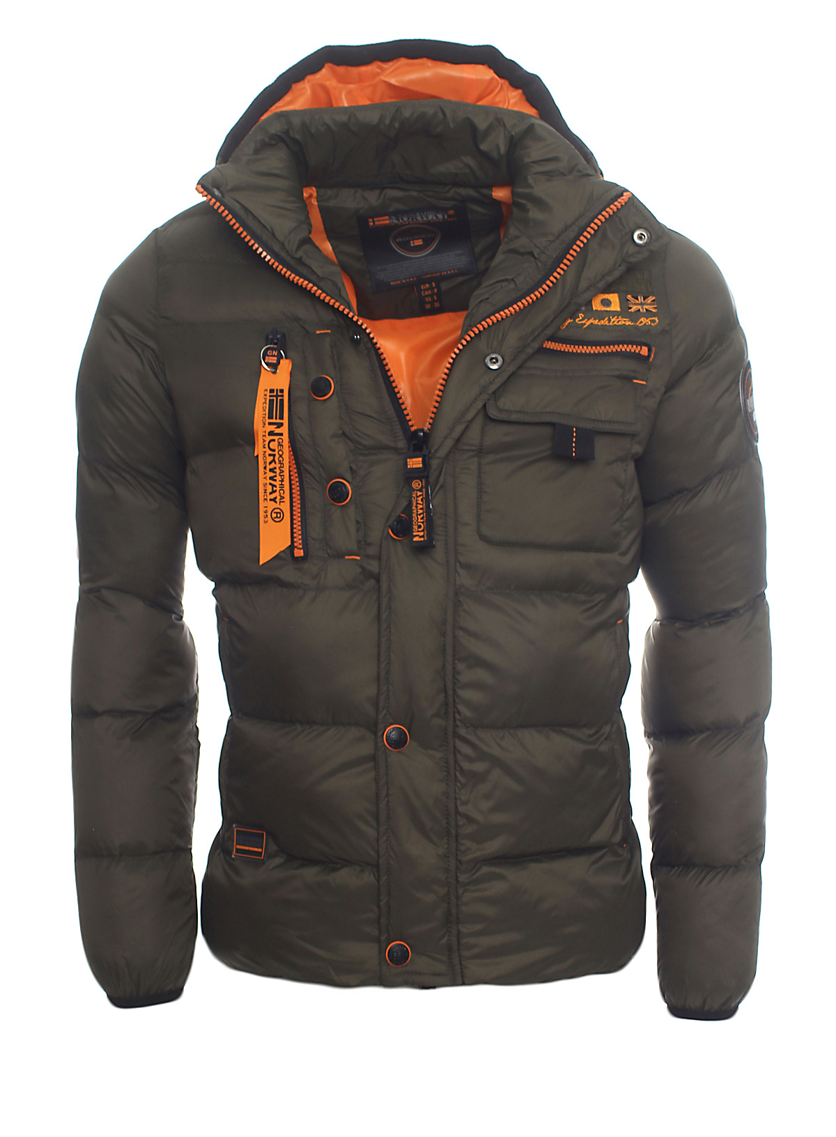 Geographical Norway Warm Lined Men S Winter Jacket Winter
