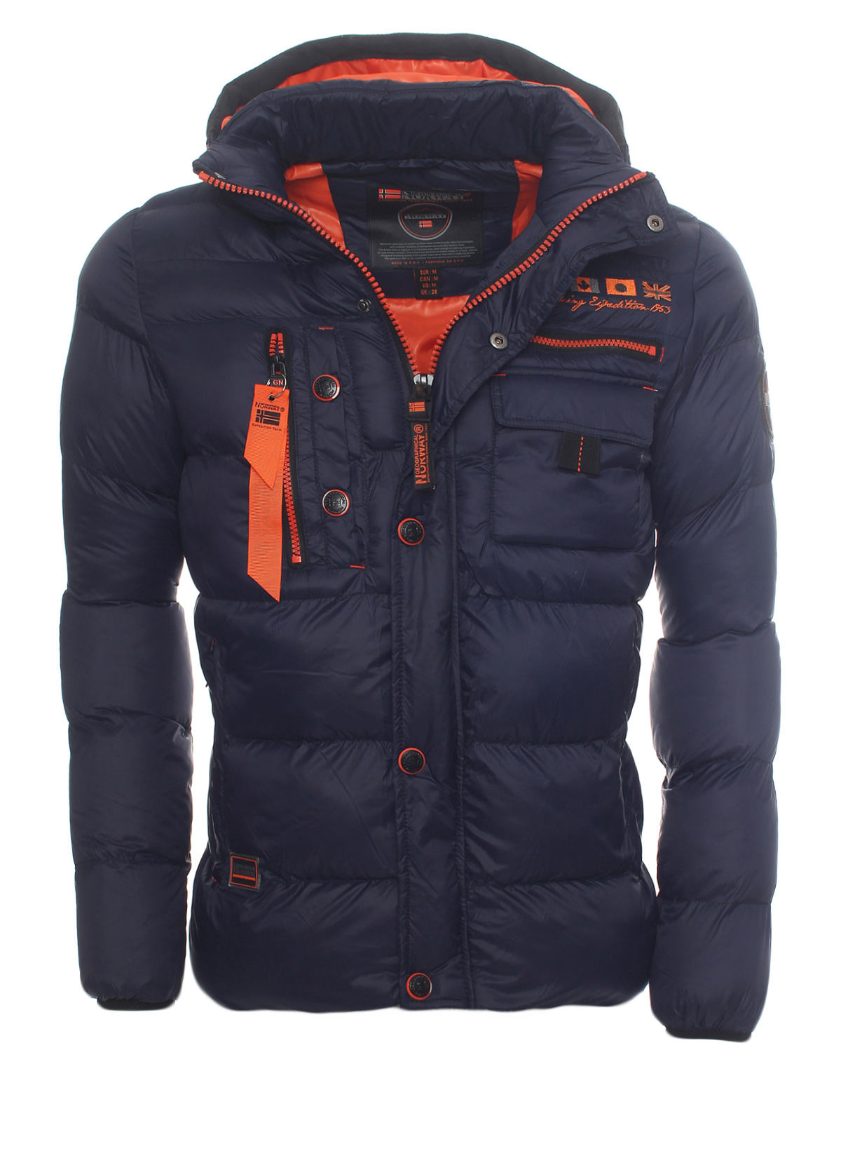 Wow Original Norway About Warm Details Jacket Geographical Show Lined Outdoor Title Men's Winter lJ1TcFK