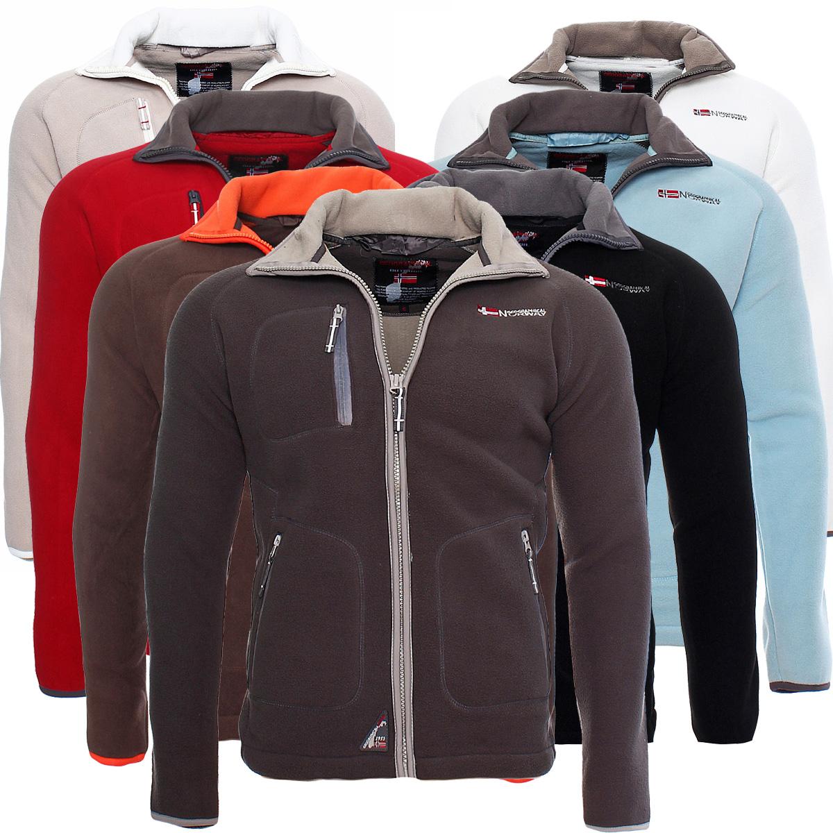 Details about Geographical Norway Trekking Men's Fleece Jacket Hoodie Sweat Jacket Sweater New show original title