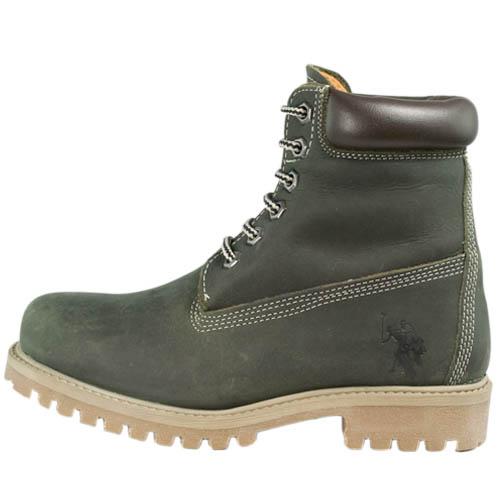 U.S Polo Assn. Damen Herren Schuhe Stiefel Boots Farbe Wählbar
